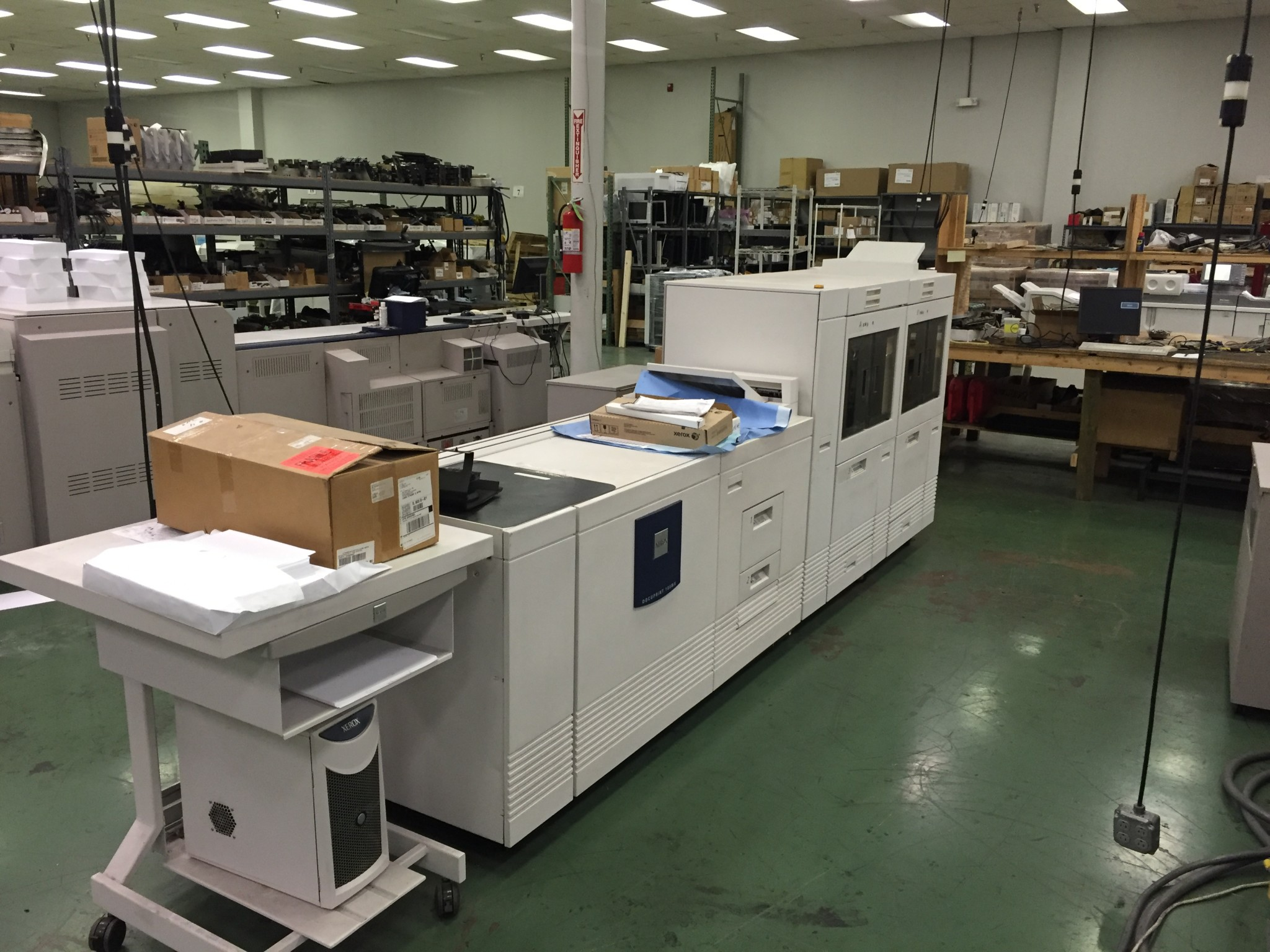 Used Xerox DocuPrint DP180