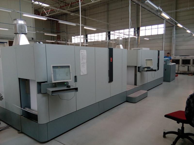 Oc 201 Colorstream 3500 High Speed Color Inkjet Printer Zar