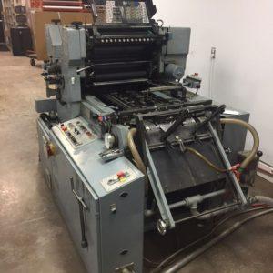 Winkler & Dunnebier 212 Envelope Printing Press