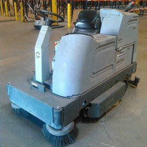 Used Rider Scrubber