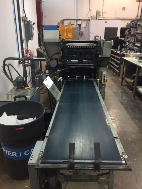 Used Printing Press