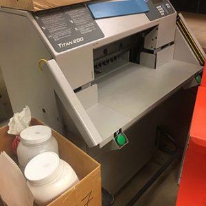 Used Titan Paper Cutter